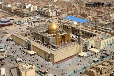 چرا قبر امام علی در نجف است