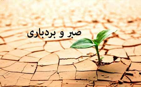 بردباری,احادیث امام علی ع درباره صبر و بردباری,صبر و بردباری