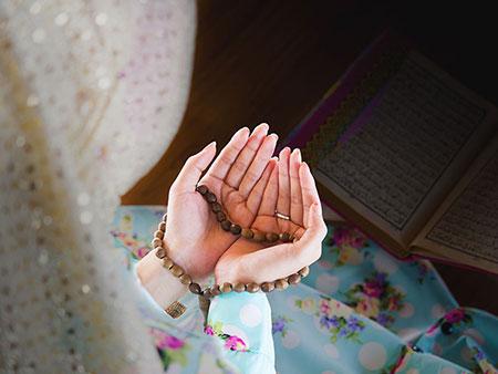 نماز هفت بانو,نحوه خواندن نماز هفت بانو,بازگشایی بخت