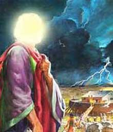 حضرت نوح,زندگی حضرت نوح,نصیحت شیطان به حضرت نوح