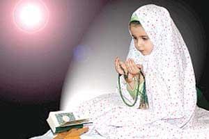 نماز خوان شدن فرزندان,نماز خواندن کودکان