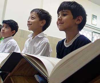 آموزش مسائل دینی به کودکان