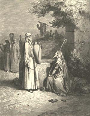 ربهکا، همسر اسحاق
