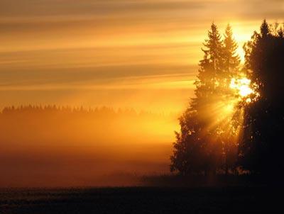 دعا براي وقت طلوع و غروب آفتاب