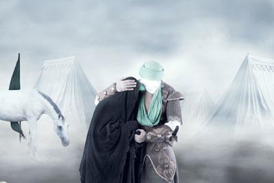 وداع امام حسین با حضرت زینب