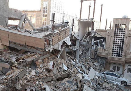دعای رفع زلزله