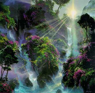 انواع بهشت,بهشت,بهشت چگونه است,
