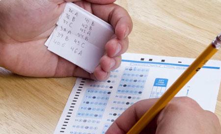 حکم شرعي تقلب در امتحانات,احکام تقلب در امتحانات,احکام شرعي تقلب در امتحانات
