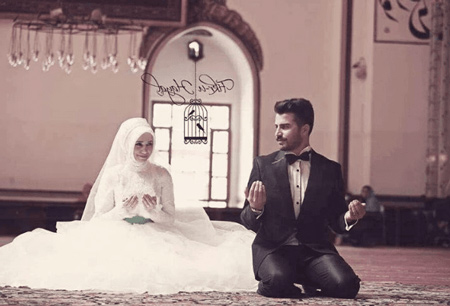 نماز شب زفاف,بهترین زمان برای زفاف,نماز شب عروسی