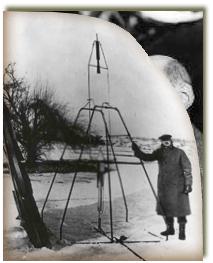 ساخت اولين موتور راكتي توسط رابرت گدارد