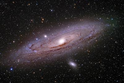 عظمت کهکشان آندرومدا, رصد کهکشان آندرومدا