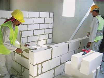 آشنایی با بلوک هبلکس, مواد و مصالح ساختمانی