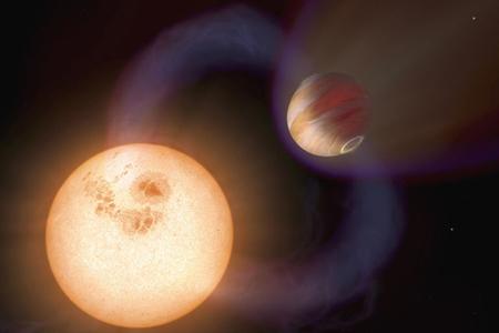 کشف سیاره ها,سیاره ای که باعث چرخش سریع ستاره اش می شود