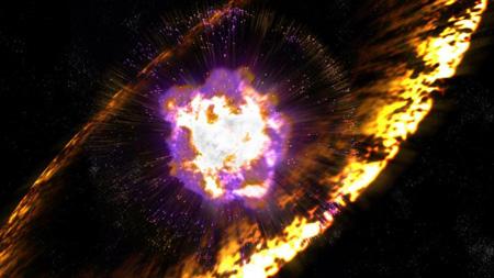انقراض موجودات در زمین,انفجار ابرنواختری