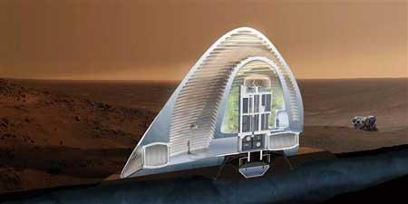 ساخت سکونتگاه فضایی,ساخت سکونتگاه فضایی با پرینتر