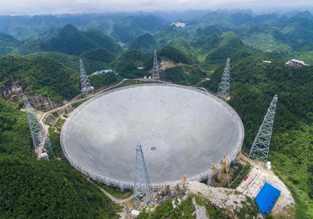 آغاز کار بزرگترین تلسکوپ رادیویی جهان