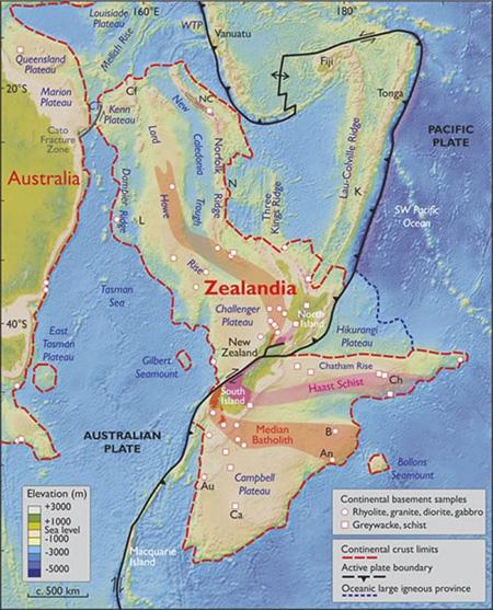 درباره قاره زیلاندیا,کشف قاره جدید,کشف قاره های جدید