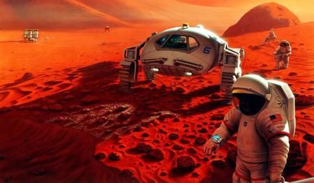 برای زندگی در مریخ باید ژنتیک بدنمان تقویت شود!