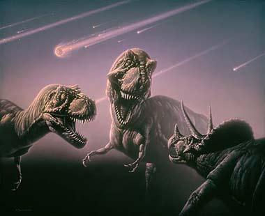 انقراض دایناسور ها, عامل اصلی انقراض دایناسورها