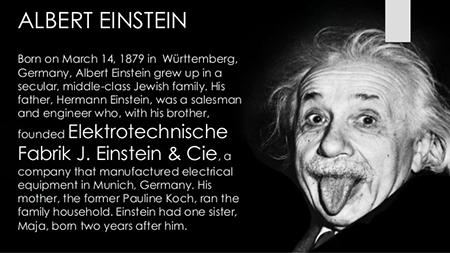 hhs140 بیوگرافی  آلبرت اینشتین