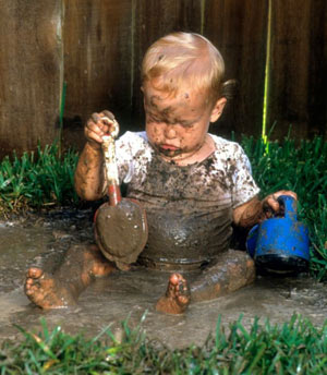 گلبازی,کودکان,پیشگیری از آلرژی کودکان