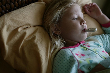 بیماریهای التهابی,علت تشدید التهاب در شب,علت تشدید تب در شب