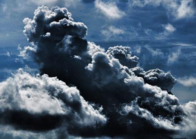 ابر,نحوه تشکیل ابر,علت سفید دیده شدن ابرها