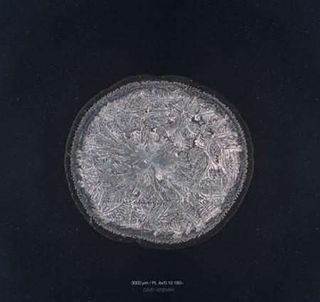 اشک, ساختار اشک,تصاویر میکروسکوپی اشک