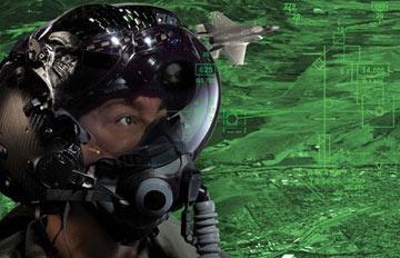 کلاه ایمنی F35,کلاه جادویی F35,کلاه خلبانی