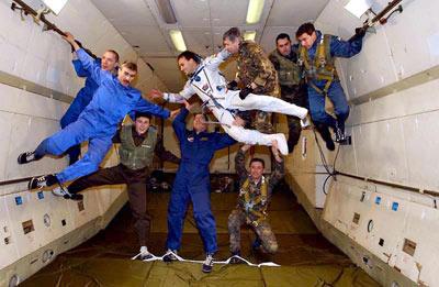 روند پیری در فضا,فضانوردان,روند سالخوردگی درفضا