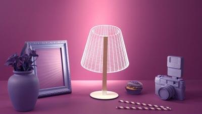 لامپ دو بعدی,ویژگیهای لامپ Bulbing,لامپهای سهبعدی