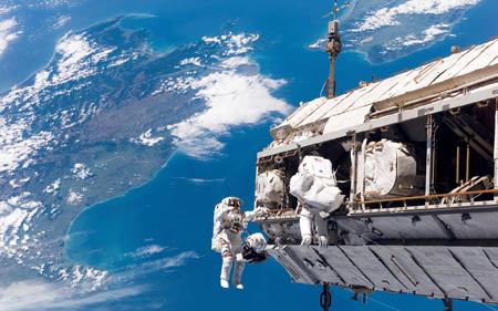 ايستگاه فضايي بينالمللي,ايستگاه فضايي,ايستگاه فضايي بينالمللي كجاست