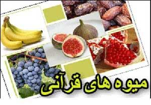 میوههای قرآنی,اسامی میوه های قرآنی,فواید میوه های قرآنی