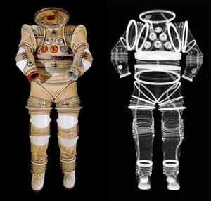 لباس فضانوردان,جنس لباس فضانوردان,لباسهای فضایی