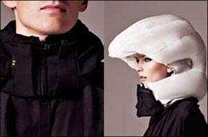 اختراع کلاه ایمنی نامرئی برای دوچرخه سواران