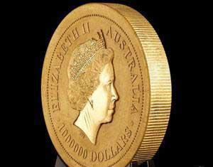 سکه طلا,مراحل ساخت سکه طلا,بزرگترین سکه طلا,گرانترین سکه طلای جهان