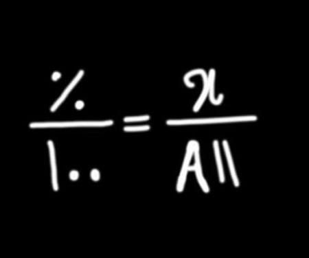 نحوه محاسبه درصد,آموزش نحوه محاسبه درصد