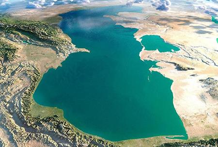 اندازه دریای خزر, متراژ دریای خزر