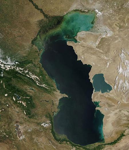 کسب درآمد از دریای خزر,علت آلوده شدن دریای خزر چیست