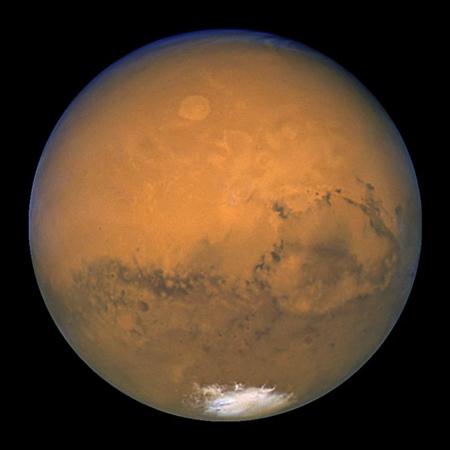 اندازه گیری فاصله زمین تا مریخ,سرعت نور