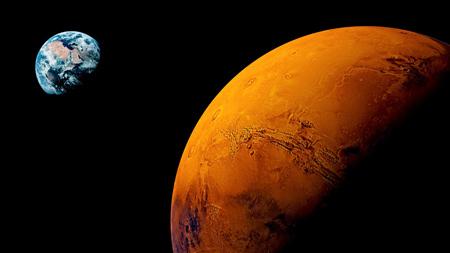 فاصله مریخ با ما,فاصله مریخ تا زمین