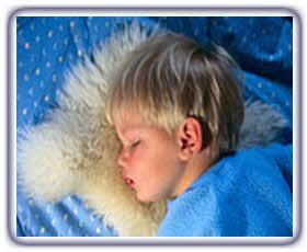 خواب شبانه کمتراز۸ساعت برای کودکان ممنوع