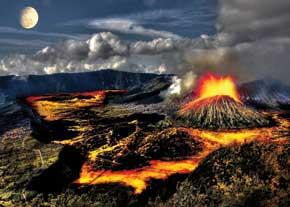 وقوع آتشفشان چگونه پيشبيني ميشود؟