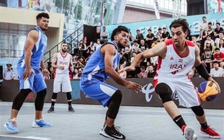 بسکتبال ۳ نفره،ورزش بسکتبال ۳ نفره