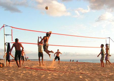 والیبال ساحلی  (+ قوانین بازی)