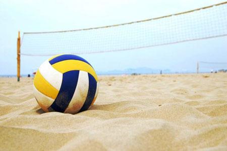 والیبال ساحلی,والیبال,توپ والیبال ساحلی