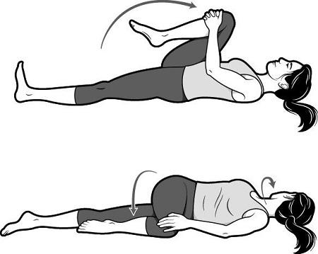 ورزش برای درمان بی خوابی, تمرین خواب راحت, حرکات یوگا برای رفع بی خوابی
