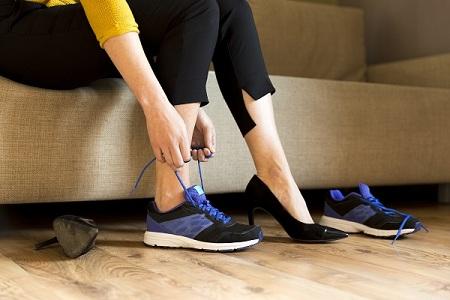 ورزش مناسب برای درد پاشنه پا, ورزش برای درمان پاشنه پا, درد پاشنه ی پا