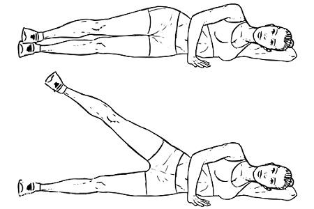 حرکات اصلاحی برای بورسیت لگن , درمان بورسیت لگن , ورزش برای بورسیت لگن