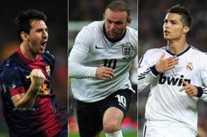 10 فوتبالیست سریع جهان+ تصاویر